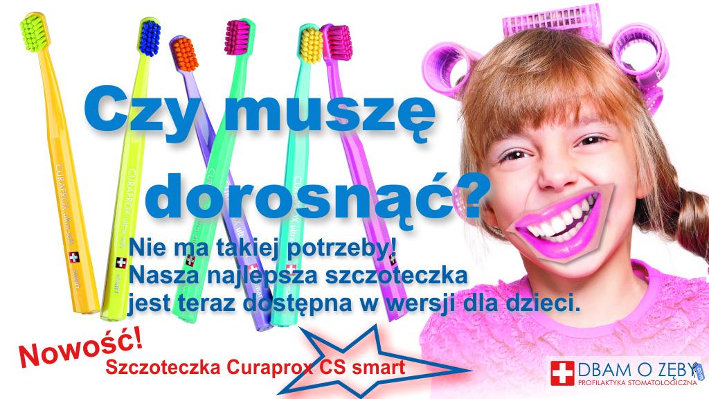 Curaprox smart - reklama